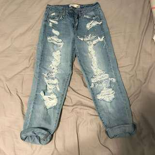 NEW GARAGE MOM JEANS