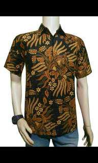 Kemeja Batik Pria, dijual Kodian (20pcs) perpcs 55rb