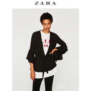 Zara peplum blazer jacket