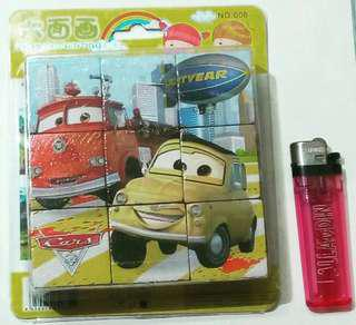 Disney Pixar Car Wodden Puzzle