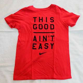 Authentic Nike Shirt Red