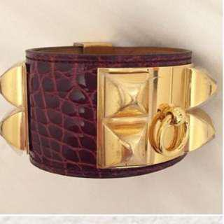 🚚 Hermes Croc CDC Bracelet