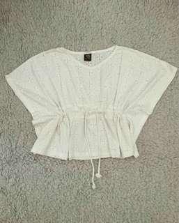 Baju Wanita Putih / Boho Top