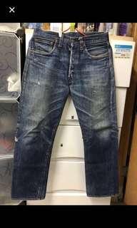 激罕555廠LEVI'S LVC 47501-0117  Big E 古著牛仔褲😊記得follows我