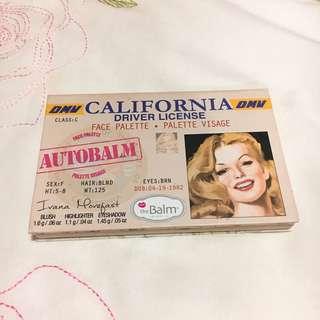 TheBalm California Driver License Face Palette