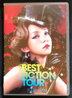 安室奈美惠 Namie Amuro 2008-2009 Best Fiction Tour 演唱會 DVD
