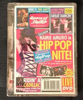 安室奈美惠 Namie Amuro 2005 Live Space of Hip Pop 演唱會 DVD