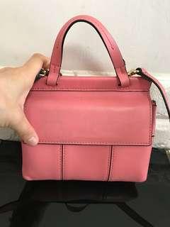 Tory Burch 粉紅mini 小手袋