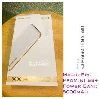🎉(包順豐站)全新Magic-Pro ProMini S8+ 8000mAh Power Partner