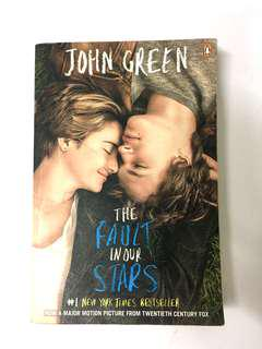 Novel ; The Fault In Our Stars by John Green