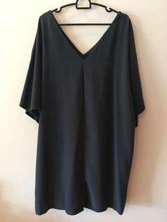 F21 batwing dress