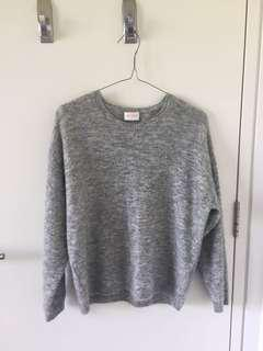 Gorman grey wool jumper