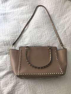 Pink Valentino Rockstud handbag