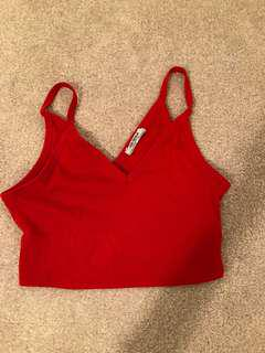 Red Crop Top from Zara (small or xsmall)
