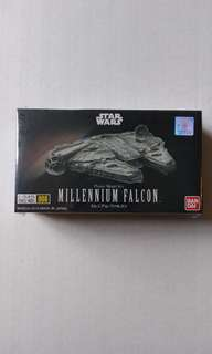 Bandai Star Wars Millennium Falcon Plastic Model Kit