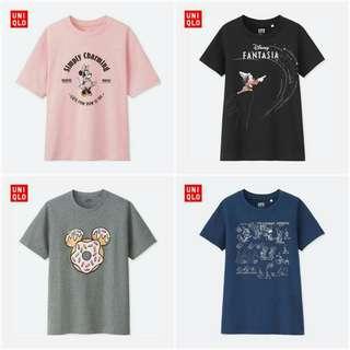🌸Mickey T-shirt Uniqlo inspired