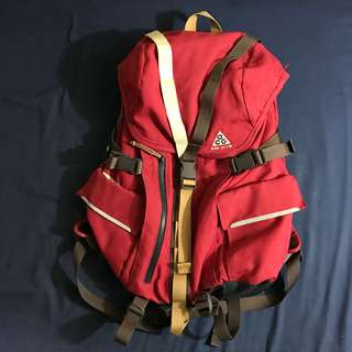 Nike ACG Red STEEL CITY 35 Backpack
