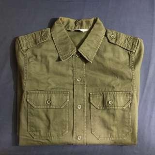 Carhartt WIP ARMY 軍恤 Shirt Size M