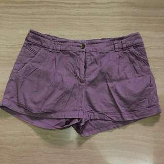 H&M Women Short In Violet