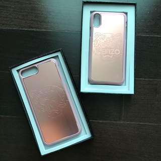 Ready Stock: Kenz* Tiger Rosegold iPhone X 7+ 8+