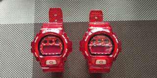 G-Shock DW6900WW改+客制supreme带。$98O 1隻