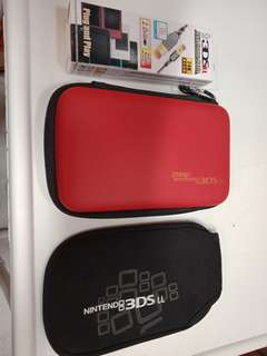 3ds casing cables and solf case 3 item
