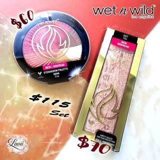 New✨Wet N Wild Zodiac Collection- Fire火象🔥(eyeshadow + Highlighting Bar) 🇺🇸