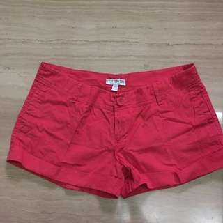 Cotton on Women Short In red