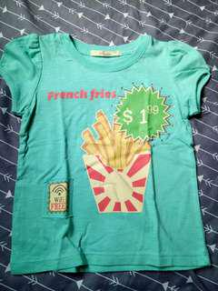 Justees french fries shirt
