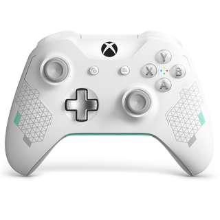 (全新) X1 XBox One X 清爽白限定版無線手掣 (行貨) - Sport White Wireless Controller 女生大愛 文青專用