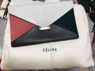 Celine multi color Clutch bag