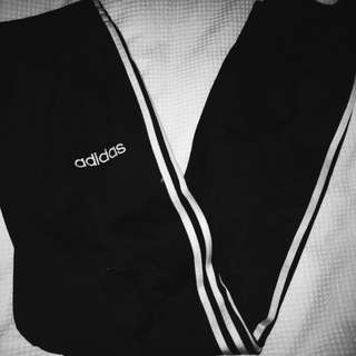 vintage adidas three - stripe tearway pants