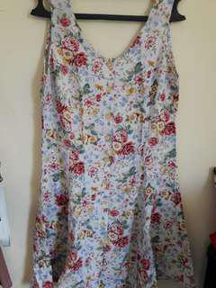 Dress bunga2
