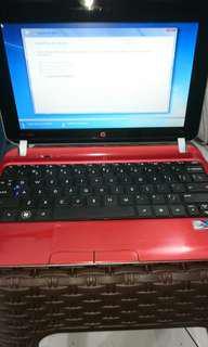 Notebook Hp mini mulus banget