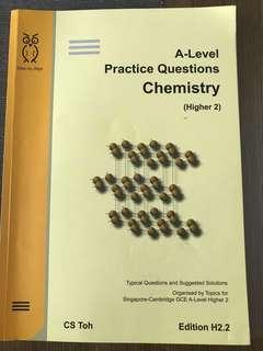 A Level H2 Chemistry Practice Questions