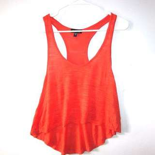 RESERVED--     (S-M) Bebe racerback top in almost looks new conditions