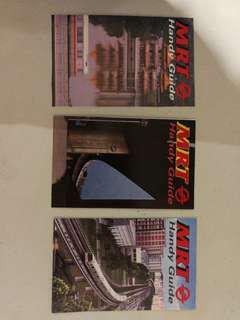 Old mrt handy guide x 3 diff. Mint