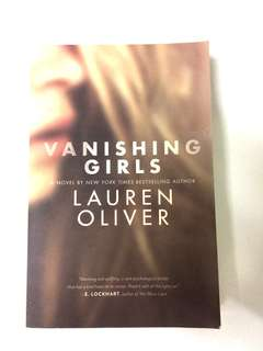 Novel ; Vanishing Girls