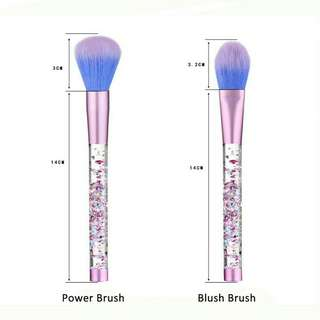 7pcs brush kristal