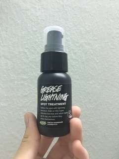 Lush grease lightning spot treatment #under50