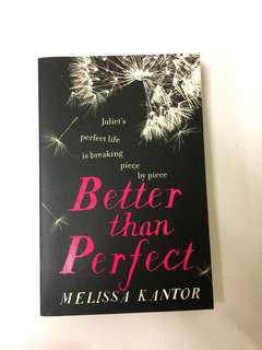Novel ; Better Than Perfect