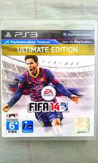 PS3  Football ⚽ Game~~ FIFA 14 ULTIMATE EDITION. ( English Version). 100% WORKING GAME & NO SCRATCHES ON DISC 💿!!!.  ** PLEASE REPLY IN ENGLISH!!! 🤗 **