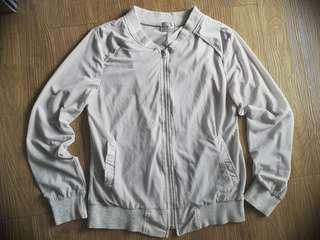 See Through Bomber Jacket