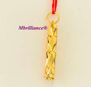 Futhong pendant  916 Gold by Mbrilliance