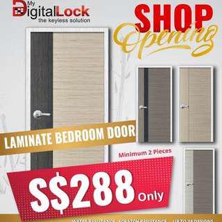 Bedroom door only at $299 call 96177025 leon