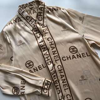 👢 CHANEL Printed Shirt 👢
