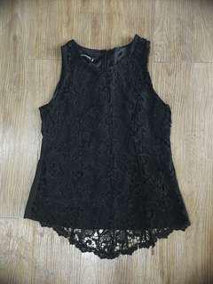Black Lace Sleeveless