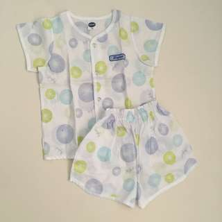 Enfant Polo and Short Terno Newborn 3-6 months