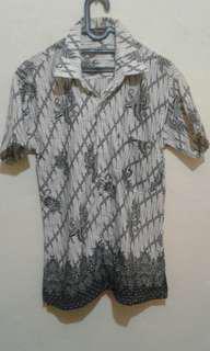 Kemeja batik karya saputra batik indonesia