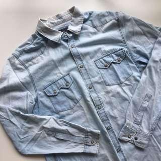 👕 TOPMAN Denim-style Shirt 👕